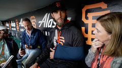Bumgarner says dirt bike ride 'not the most responsible decision'