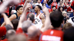 Powell steals the show as Raptors maul Bucks