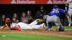 MLB: Blue Jays 1, Angels 2