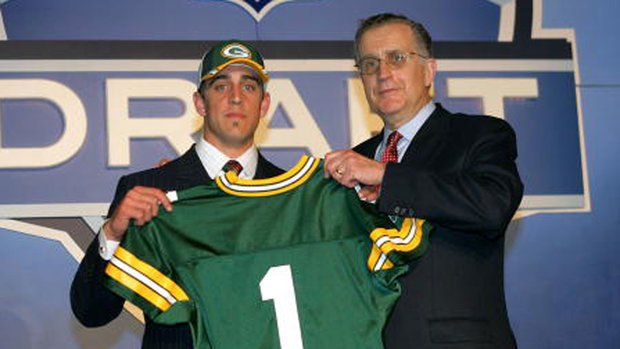 The truth behind Rodgers' draft-day fall