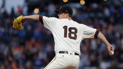MLB: Dodgers 1, Giants 2