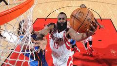 NBA: Thunder 99, Rockets 105