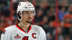 Injured Karlsson providing leadership all over ice for Sens