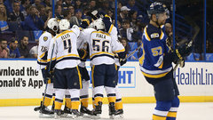 NHL: Predators 4, Blues 3