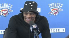 Westbrook not thinking about future in OKC yet