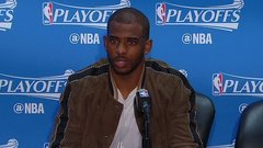 Chris Paul gets testy with reporter