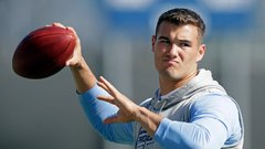 Schefter hearing rumblings of Trubisky as top pick