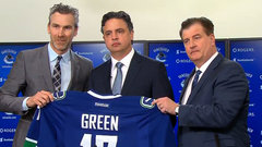 Canucks officially introduce Green as head coach