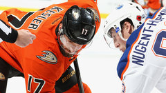 Gamesmanship starts early for Ducks and Oilers