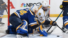 Allen, Rinne not as sharp in Game 1
