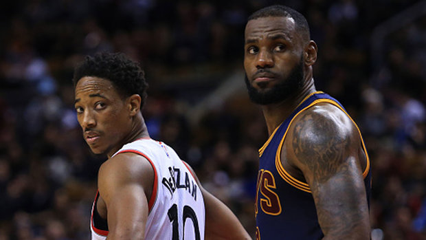 Raptors go from the Greek Freak to the King