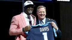 Titans draft WR Corey Davis fifth overall
