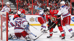 Senators show resolve in beating Rangers
