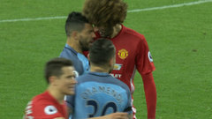 The Keg Must See: Fellaini sent off after head-butt to Aguero