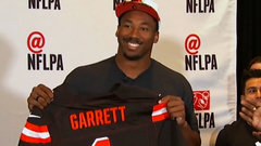Browns draft DE Myles Garrett first overall