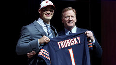 Bears draft QB Mitchell Trubisky second overall