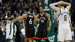 NBA: Raptors 92, Bucks 89