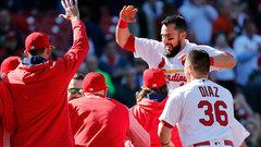 MLB: Blue Jays 4, Cardinals 8 (11) (GM 1)