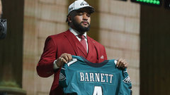 Wentz says Barnett is dynamic for Eagles' defence
