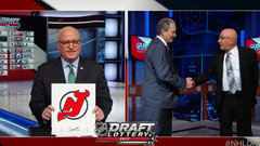 Devils claim top pick in dramatic NHL Draft Lottery