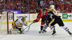 Penguins capitalize on opportunities to take Game 2