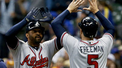 MLB: Braves 11, Brewers 3