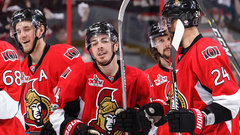 Senators revel in Pageau's magical night