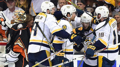 NHL: Predators 3, Ducks 1