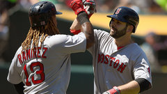 MLB: Red Sox 12, Athletics 3