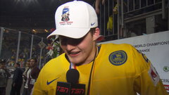 Nylander on winning gold: 'So happy, it's amazing'