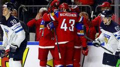 WHC: Russia 5, Finland 3
