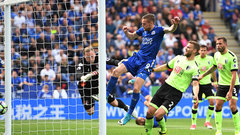 EPL: Leicester City 1, Bournemouth 1