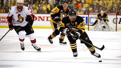 Penguins waste no time jumping all over Senators