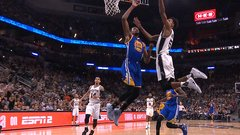 Durant's double block from all the angles