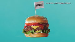 Impossible Foods develops a plant-based burger that bleeds!