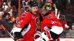 Anderson has given the Sens an emotional lift all season long