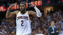 Irving steps up with 42 points on tender ankle