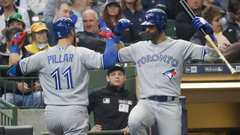 MLB: Blue Jays 8, Brewers 4