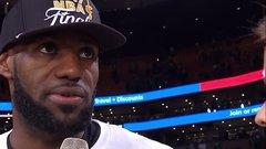 LeBron calls the Warriors a 'juggernaut'