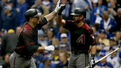 MLB: Diamondbacks 4, Brewers 2
