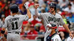 MLB: Padres 5, Nationals 3
