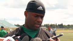 Young working to adjust to CFL
