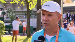 Högstedt happy with how Bouchard's ankle is responding