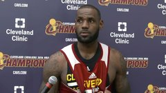 LeBron: No one's taken two different franchises to four Finals