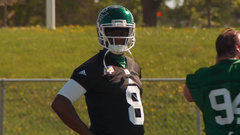 Lalji: Young struggled with short throws in Riders' training camp debut