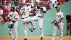 MLB: Mariners 5, Red Sox 0