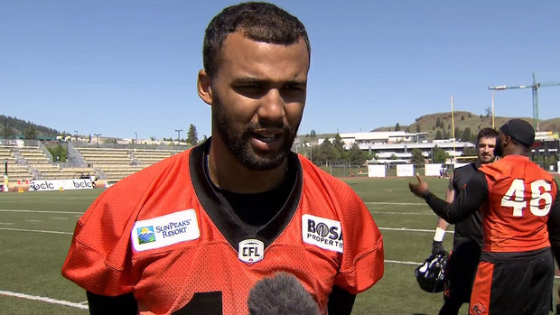 Jennings entering new CFL season with tons of confidence