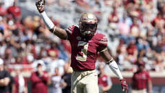 Seminoles' James taking defence by storm
