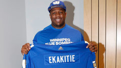 Blue Bombers take Ekakitie first overall in CFL Draft