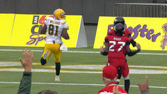CFL Must See: Kline's first CFL pass is a TD to Williams